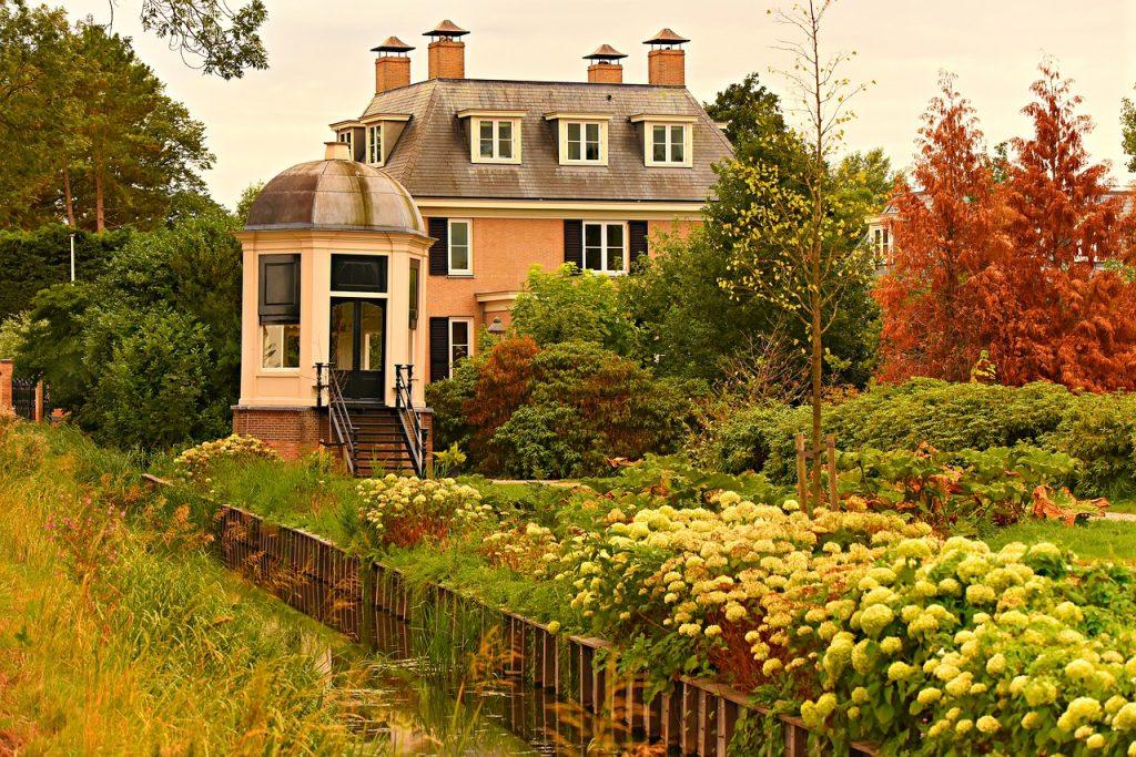 manor, estate, property